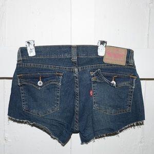 Levi's womens cut off shorts size 13 -2118-
